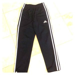 Adidas boys navy athletic pants